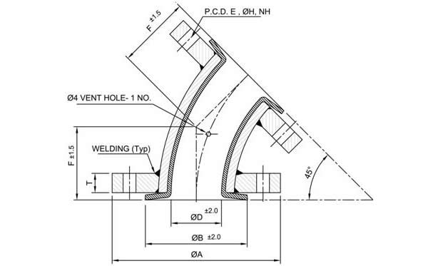 Dipflon Engineering   ptfe lined pipe, sight flow indicator